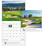 Fairways and Greens Wall Calendars
